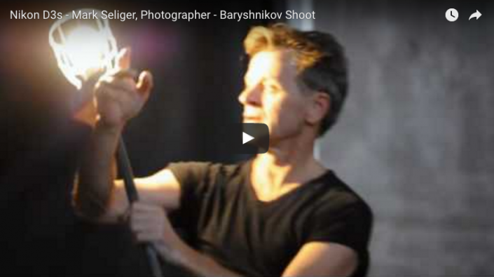 Mark Seliger, Photographer - Baryshnikov Shoot Video