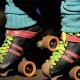 Nikon D300S: Glamour Jammer rollerskates closeup