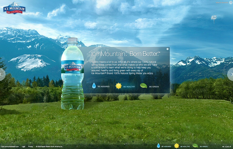 Nestle Waters Born Better